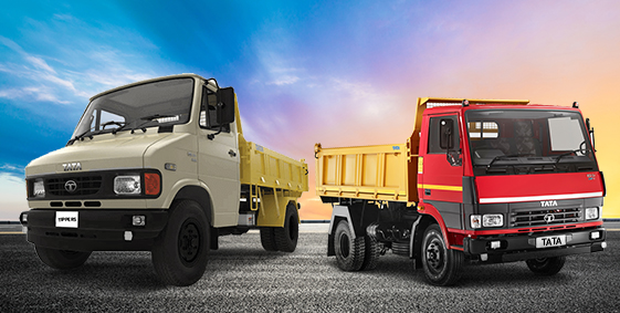Tata 407 Tipper Trucks