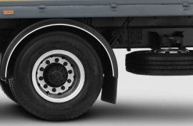 Standard tyre size of Tata Motors' light trucks