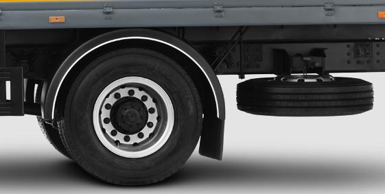 Standard tyre size of Tata Motors' light trucks | Tata Light
