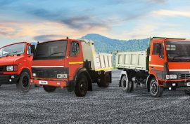 Best BS6 Tipper Trucks for Construction Applications