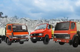What are the Types of Tipper Trucks in LCV?