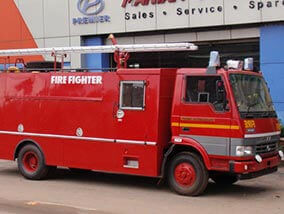 Tata Fire Fighter Vehicle