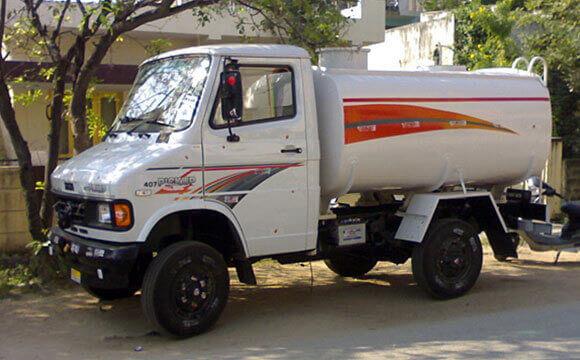 Tata PU Tanker