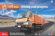 Tata LPT 1109 HEx2 BS IV Brochure