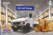 Tata RJ SFC 407 Pick Up Ex Brochure