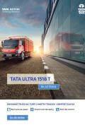 Tata Ultra 1518 T Leaflet Brochure