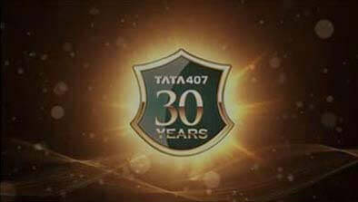 Tata 407 30 Years Completion