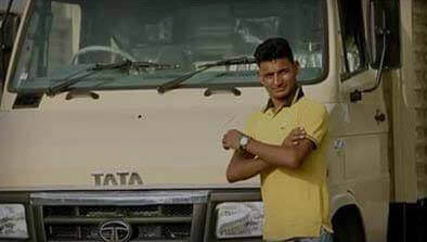 Tata Light Truck With Driver