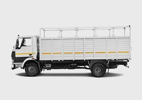 Tata 1010 Truck Flat White Colour Small