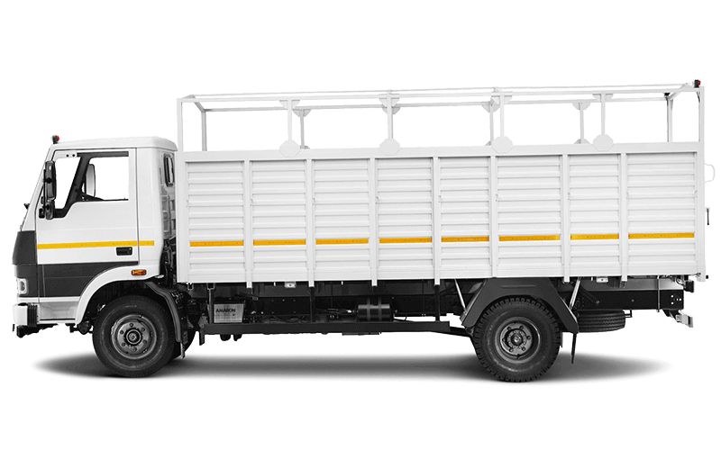 Tata 1010 Truck LH Side White Colour