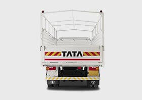 Tata 1010 Truck White Colour Back Side