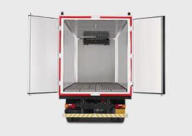 Tata 1109 Truck Container Small