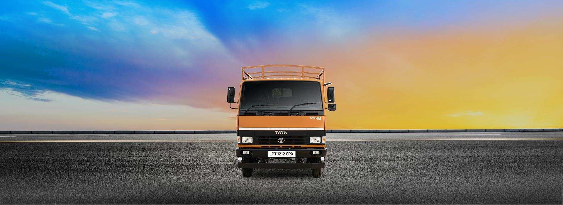 Tata LPT 1212 CRX Flat Side