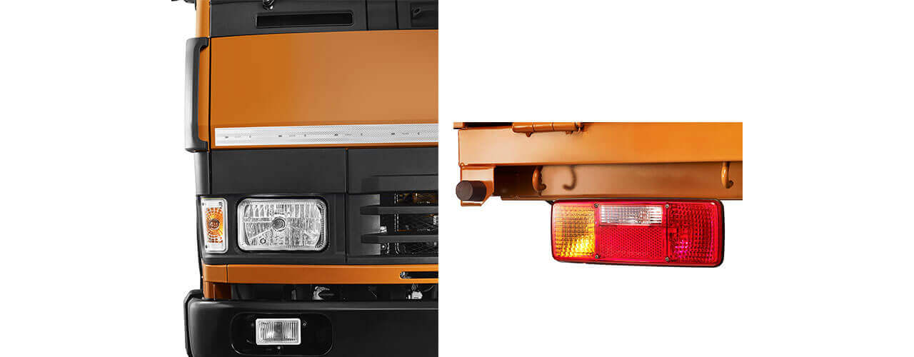 Tata 1412 Truck Front & Tail Lights