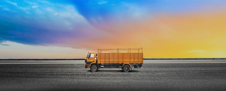 Tata 1412 Flat Side