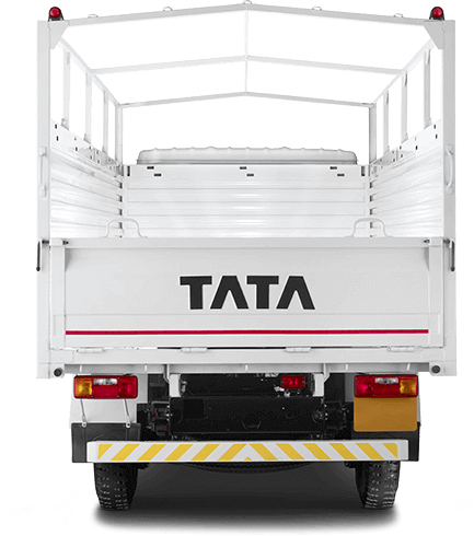 Tata 407 Back Side White Colour