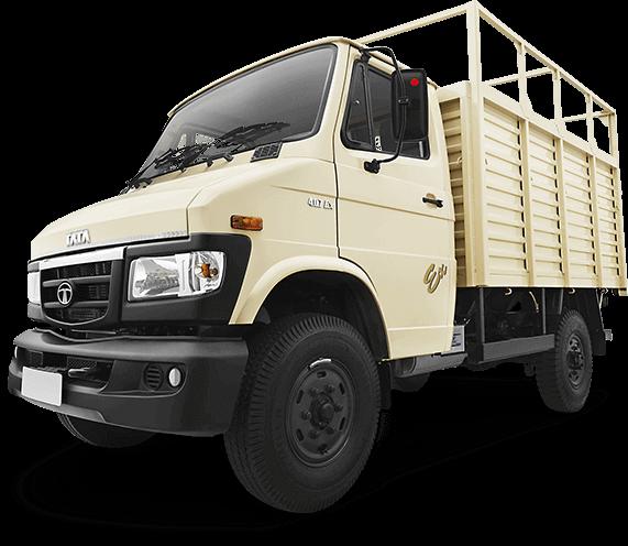 Tata 407 Ex 2 Truck LH Side