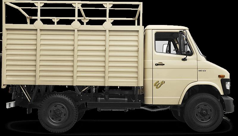 Tata 407 Truck Flat Side