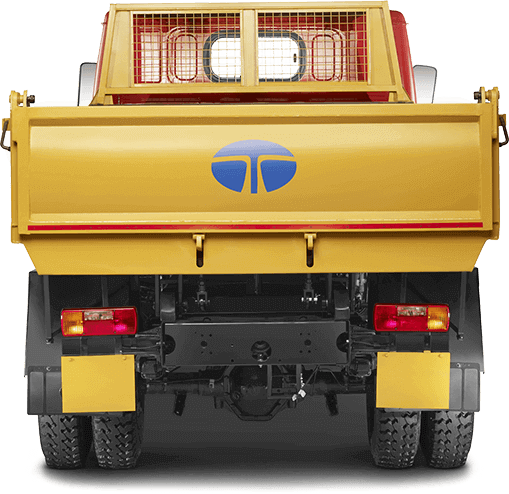 Tata 407 Truck Back Side Trunk