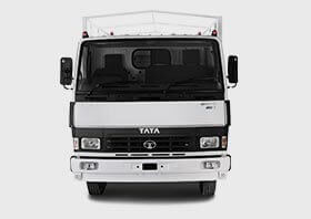 Tata 407 Truck Front Side White Small