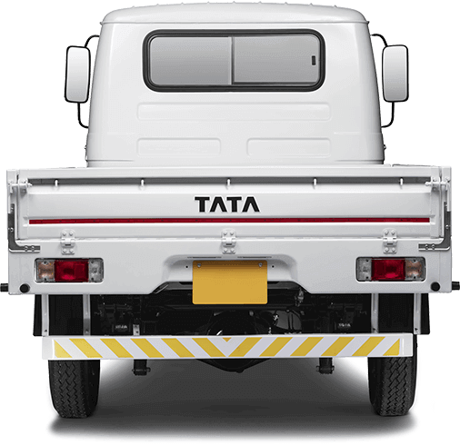 Tata 407 Truck Trunk Back Side