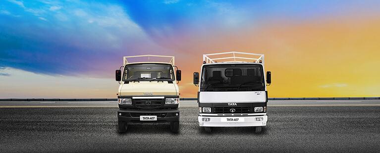 Tata 407 Flat Side