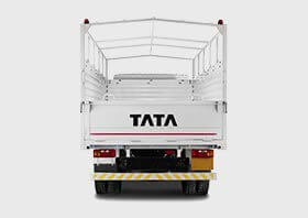 Tata 709Truck  Back Side Small