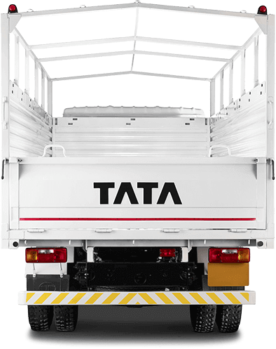 Tata 709 Truck Back Side White Colour