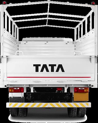 Tata 709 Truck Back Side White Colour
