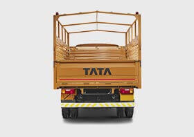 Tata 709 Truck Back Side Small