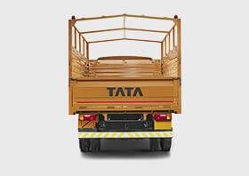 Tata 709 Truck Back Side Small