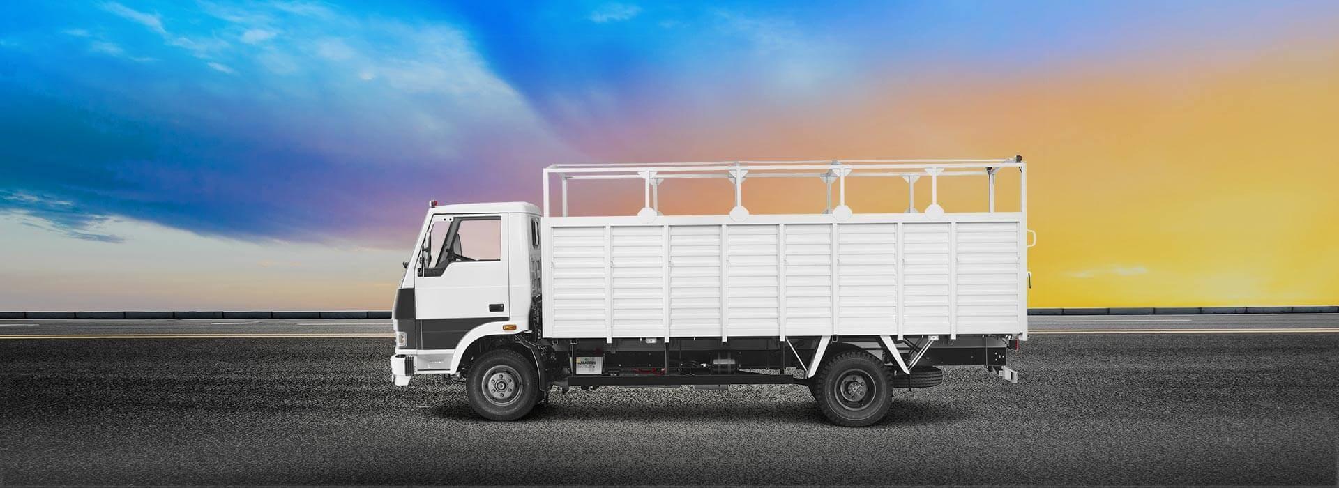 Tata 709 Flat Side