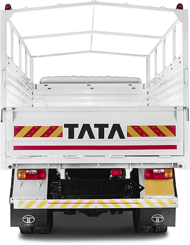 Tata 810 Truck Back Side