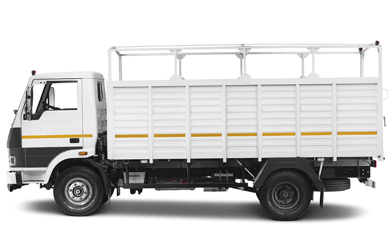 Tata 909 Truck Flat White Colour
