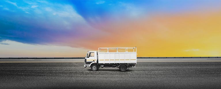 Tata 909 Flat Side