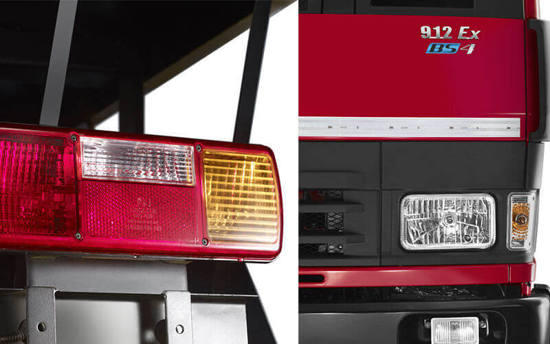 Tata 912 Truck Front & Tail Lights