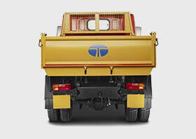 Tata Tipper Back Side Small
