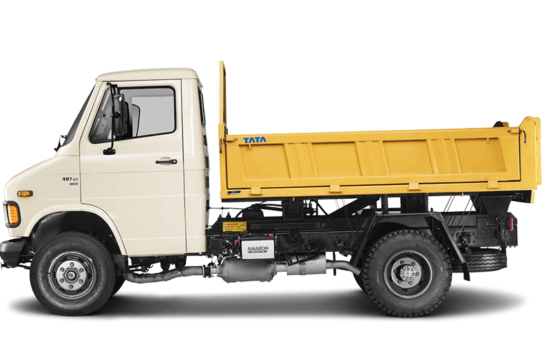 Tata Tipper Flat side