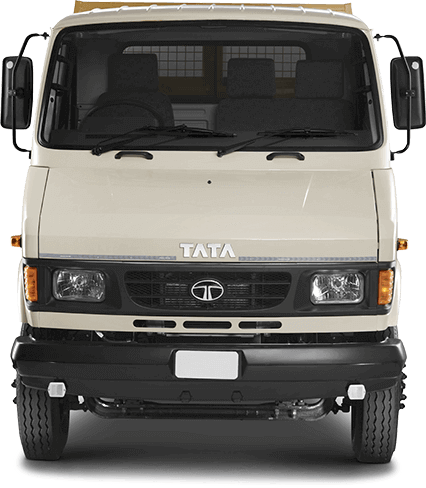Tata Tipper Front view