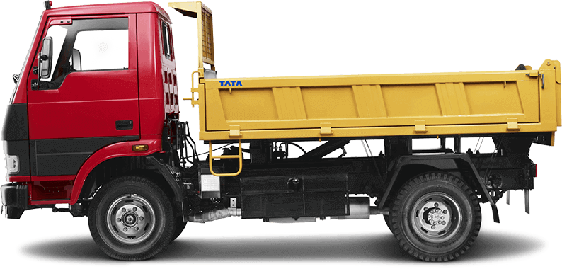 Tata Tipper LH Side