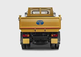 Tata Tipper Truck Flat Back Side