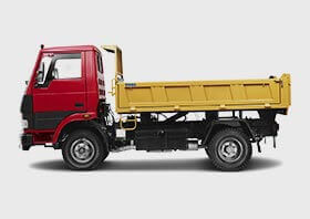 Tata Tipper Red Flat Small