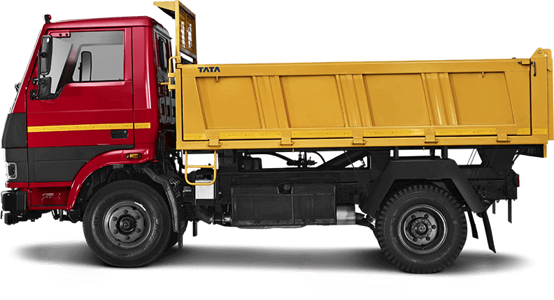Tata Tippers Flat Side