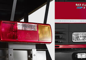 Tata Tippers Front & Tail Lights