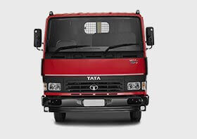 Tata Tippers Red Front Side Small