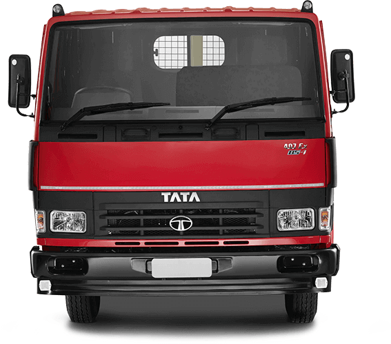 Tata Tippers Red Front Side