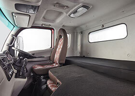 Tata Ultra Truck Co-driver Seat