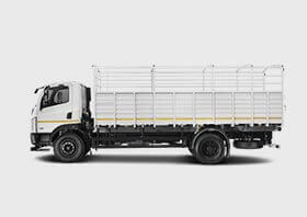 Tata Ultra Truck Flat LH Side white Colour