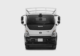 Tata Ultra Truck Front Side White Colour
