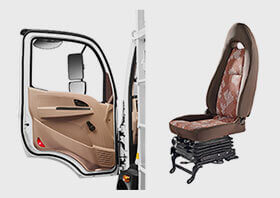 Tata Ultra Truck Seat & Door Small